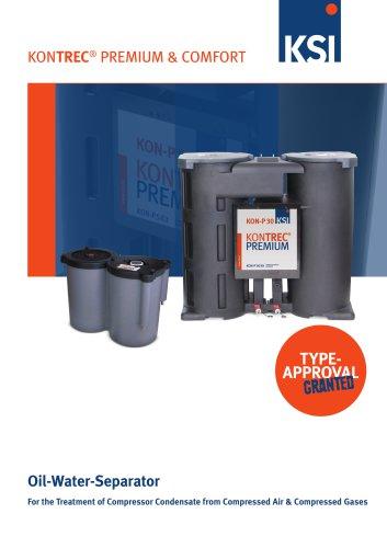 KONTREC Oil-water separators
