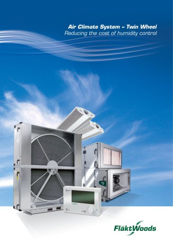 Air Climate System ? Twin Wheel Reducing the cost of humidity control