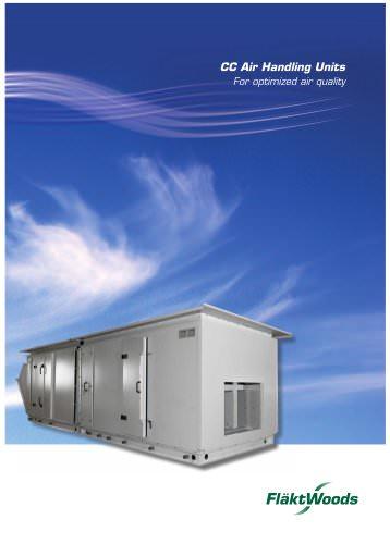CC Air Handling Units For optimized air quality