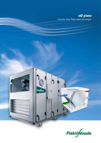 eQ plate Counter flow Plate Heat Exchanger