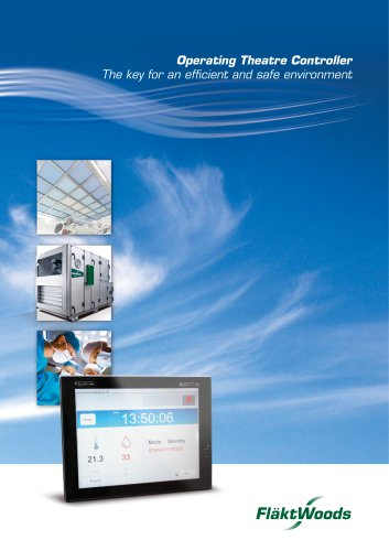 Operating Theatre Controller The key for an efficient and safe environment