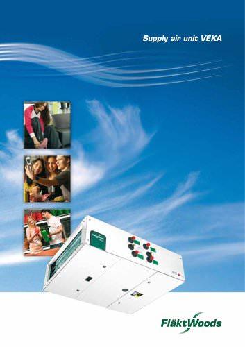 Supply air unit VEKA