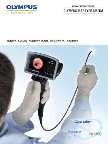 OLYMPUS MAF TYPE GM/TM Airway Mobilescope
