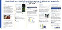 Use of ChannelCheck™ 3-in-1 Residual Soil Test Strips to Verify Cleaning of Flexible Endoscopes - 1