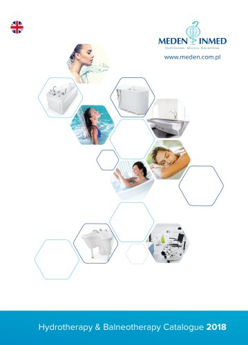 Meden-Inmed Hydrotherapy Catalogue 2018