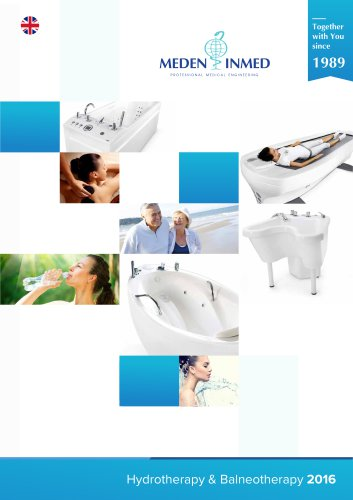 Meden-Inmed Hydrotherapy Catalogue English 2016