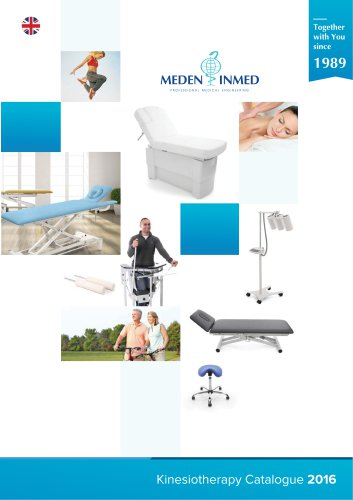 Meden-Inmed Kinesiotherapy Catalogue English 2016