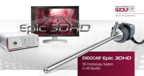 ENDOCAM Epic 3DHD Brochure