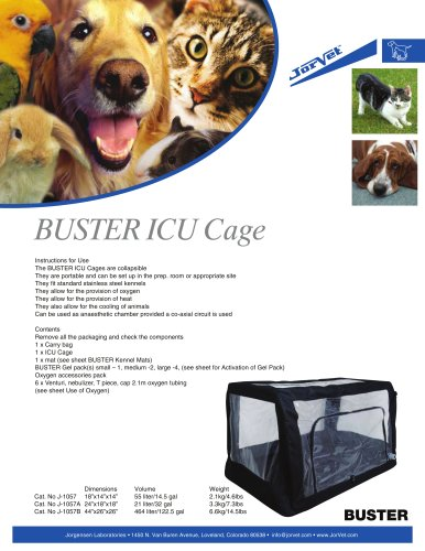 Buster ICU Cage