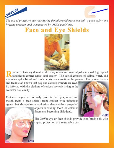 Face and Eye Shields