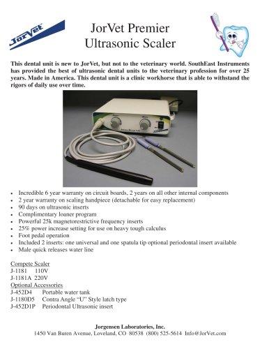 JorVet Premier  Ultrasonic Scaler