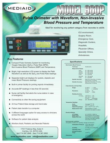 Model 960P Vital Sign Monitor