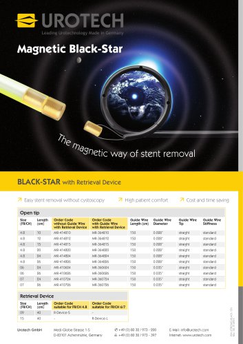 UROTECH ? Magnetic Black-Star