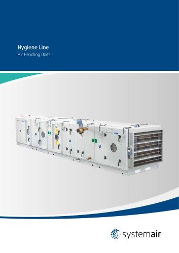 Hygiene line Air Handling Unit Catalogue