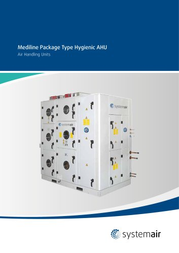 Mediline Package Type Hygienic AHU - 2014