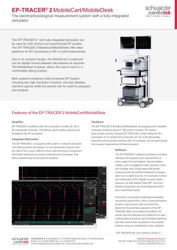 EP-TRACER 2 MobileCart/MobileDesk