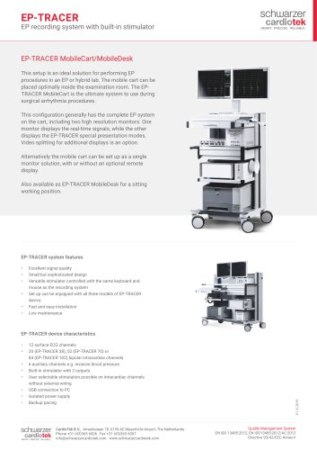 EP-TRACER MobileCart Mobile Desk