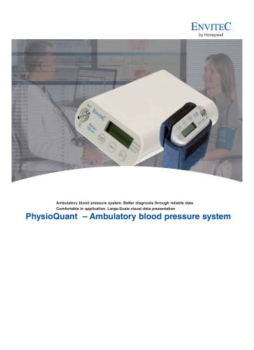 Data Sheet for Ambulatory Blood Pressure Devices