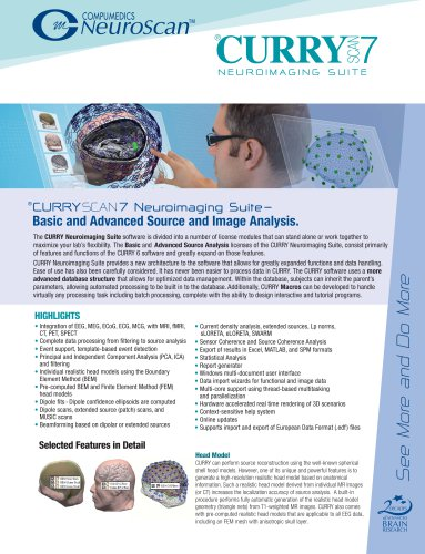CURRY 7 Basic and Advanced Image Analysis Brochure