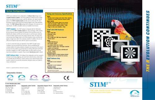 Stim2 Brochure