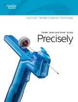 AxoTrack? Needle Guidance Technology Simple ?point-and-shoot? access Precisely - 1