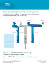 AxoTrack? Needle Guidance Technology Simple ?point-and-shoot? access Precisely - 3