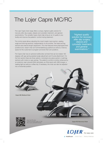 Capre Medical Chair