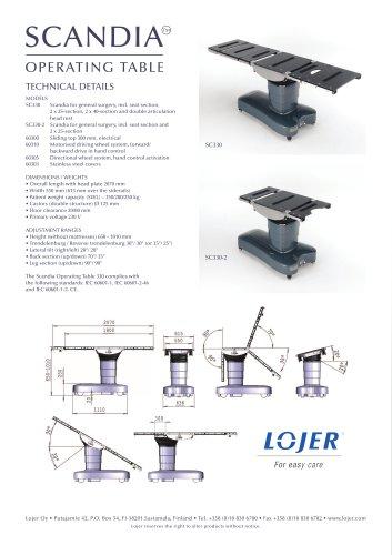 Scandia SC330 Brochure