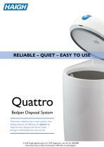 Quattro Bedpan Disposal System