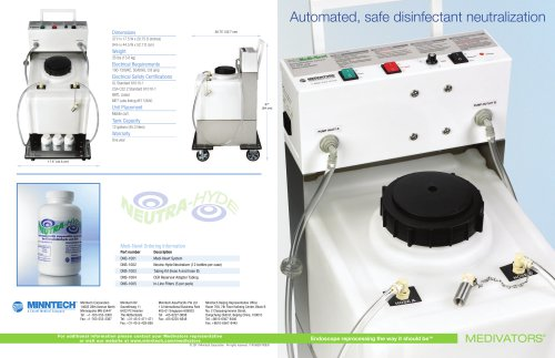 Automated, safe disinfectant neutralization