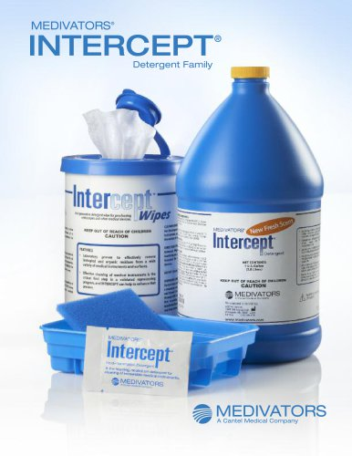 Intercept Detergent, Wipes & Foam