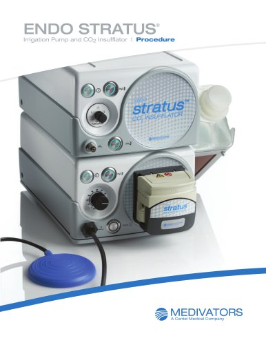 Irrigation Pump and CO2 Insufflator  