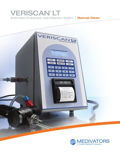 MEDIVATORS® VERISCAN® LT Leak Detection System