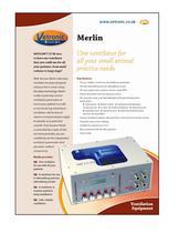 Merlin Small Animal Ventilator Specification Details