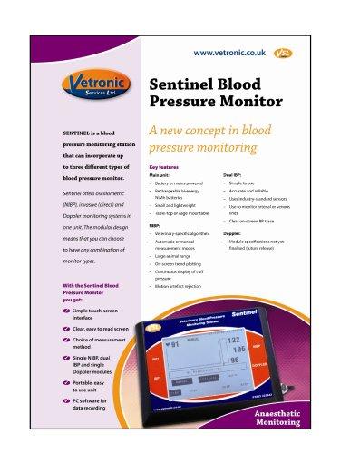 Sentinel Blood Pressure Monitor Specification Details