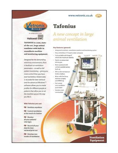 TAFONIUS Specification Details
