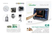 Sonostar C8 Veterinary Color Doppler Utrasound Scanner