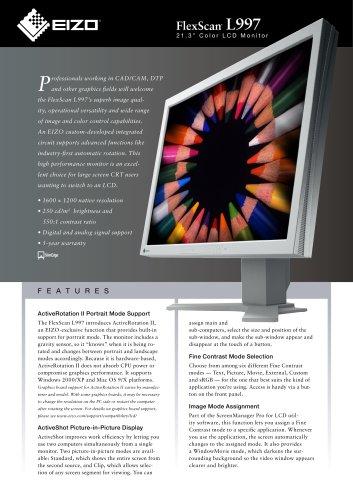 FlexScan L997