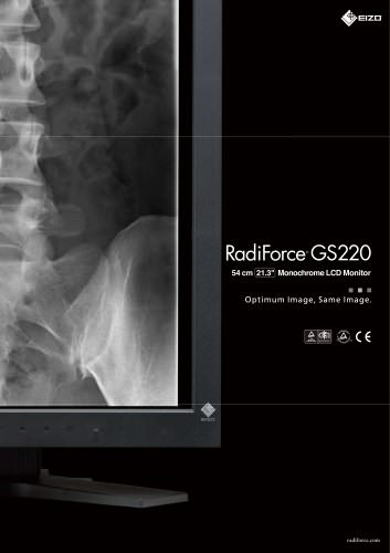 RadiForce GS220
