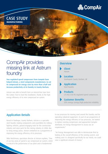CompAir provides missing link at Astrum foundry