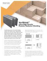 VeriShield TM Ultra-High Density  Modular Radiation Shielding
