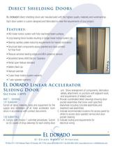 Direct Shielding Doors