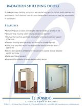 RADIATION SHIELDING DOORS