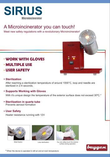 Microincinerator SIRIUS