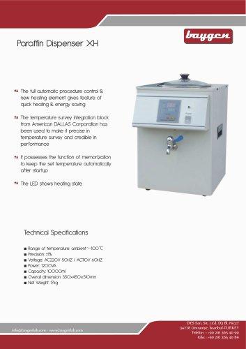 Paraffin Dispenser XH