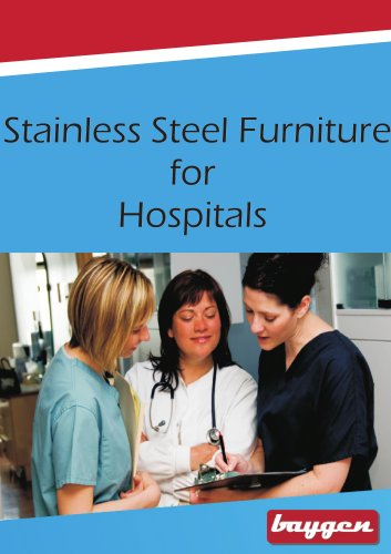 Stainless Steel Furniture for Hospitals