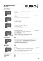 ECOLOG Data Sheets