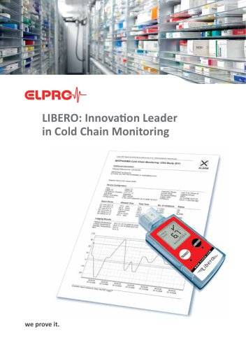 LIBERO: Innovation Leader in Cold Chain Monitoring