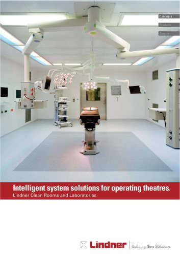 Intelligent system solutions for operating theatres.