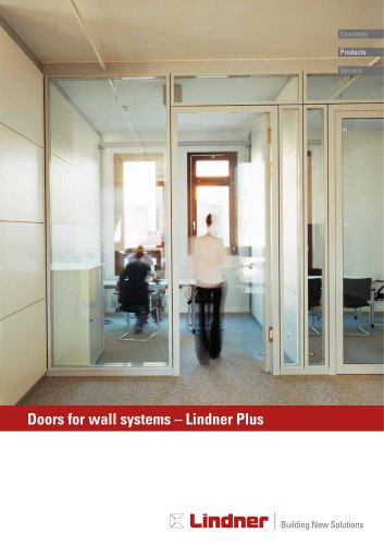 Lindner Plus - Doors for wall systems